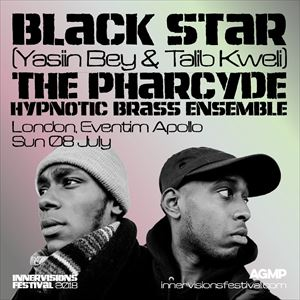 BLACK STAR/THE PHARCYDE/HYPNOTIC BRASS ENSEMBLE @ Eventim Apollo